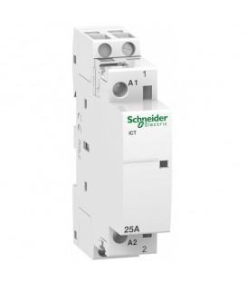 Модульный контактор iCT Acti 9 Schneider Electric 25A 1НО 220В/240В АС 50ГЦ