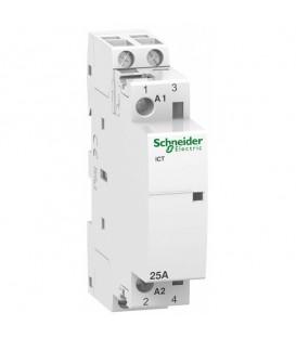 Модульный контактор iCT Acti 9 Schneider Electric 25A 2НО 230В/240В АС 50ГЦ