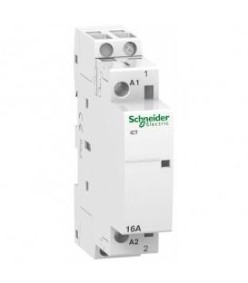 Модульный контактор iCT Acti 9 Schneider Electric 16A 1НО 230/240В АС 50ГЦ