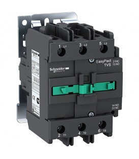 Пускатель магнитный EasyPact TVS Schneider Electric 3Р 80А AC3 катушка 220В 50ГЦ 1НО+1НЗ контактор