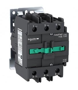 Пускатель магнитный EasyPact TVS Schneider Electric 3Р 95А AC3 катушка 220В 50ГЦ 1НО+1НЗ контактор