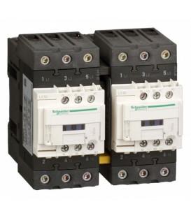 Пускатель магнитный реверсивный D Schneider Electric 3Р 65A катушка 220В AC 1НО+1НЗ (контактор)