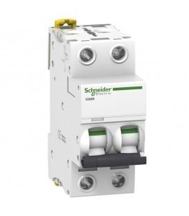 Автоматический выключатель Schneider Electric Acti 9 iC60N 2П 63A 6кА C