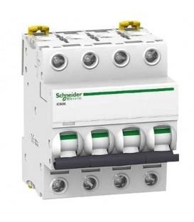 Автоматический выключатель Schneider Electric Acti 9 iC60N 4П 6A 6кА C