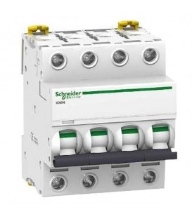 Автоматический выключатель Schneider Electric Acti 9 iC60N 4П 10A 6кА C