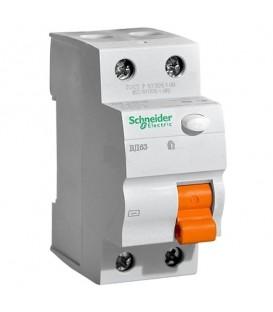 УЗО ВД63 2П 16А 10мА AC Schneider Electric