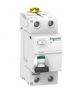 УЗО Acti 9 iID 2П 63A 100mA AC Schneider Electric