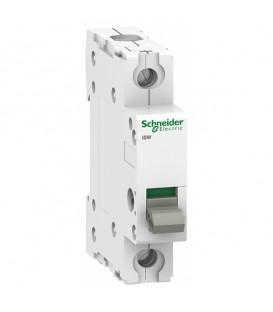 Выключател нагрузки iSW Acti 9 Schneider Electric 1П 63A (модульный рубильник)