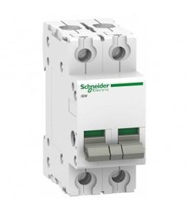 Выключател нагрузки iSW Acti 9 Schneider Electric 2П 40A (модульный рубильник)