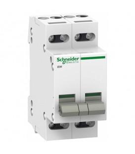 Выключател нагрузки iSW Acti 9 Schneider Electric 4П 20A (модульный рубильник)