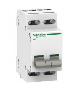 Выключател нагрузки iSW Acti 9 Schneider Electric 4П 32A (модульный рубильник)