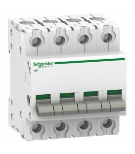 Выключател нагрузки iSW Acti 9 Schneider Electric 4П 63A (модульный рубильник)