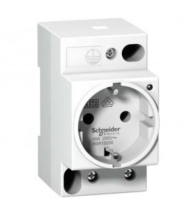 Розетка щитовая iPC Schneider Electric DIN 2П+T 16A 250В с индикацией