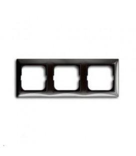 Рамка трехместная ABB Basic 55, цвет серый