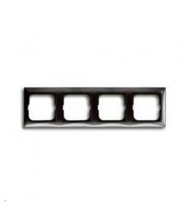 Рамка четырехместная ABB Basic 55, цвет серый