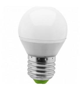 Лампа LED 5вт E27 теплая шар (94477 NLL-P-G45)