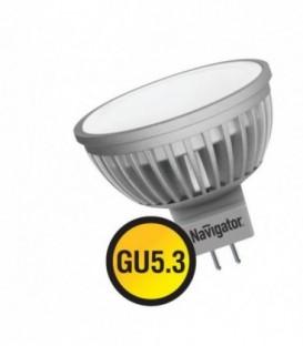 Лампа LED 3вт 230в GU5.3 тепло-белая Navigator (94255 NLL-MR16)