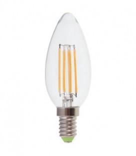 Лампа LED 5вт Е14 теплый свеча FILAMENT FERON(LB-58)
