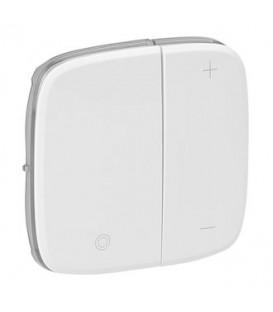 Светорегулятор кнопочный, без нейтрали Valena Allure (белый)