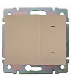 Cветорегулятор кнопочный Legrand Galea Life 60-600Вт (титан)