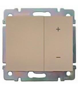 Cветорегулятор кнопочный Legrand Galea Life 40-400Вт (титан)