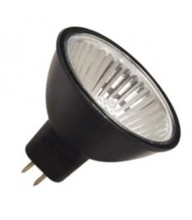 Лампа галогенная MR16 Black 50W 220V GU5,3 черная