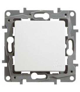 Выключатель-переключатель Etika Plus одноклавишный (белая)