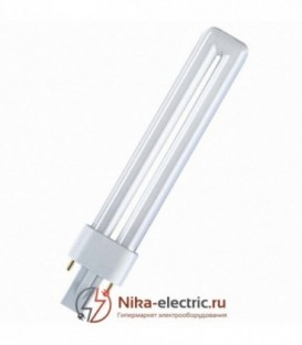 Лампа Osram Dulux S 9W/41-827 G23 теплая