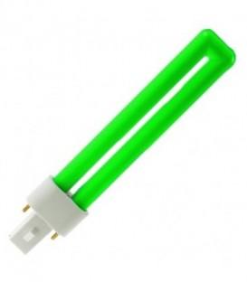 Лампа Osram Dulux S 9W/66 G23 зеленая