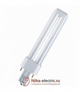 Лампа Osram Dulux S 7W/21-840 G23 холодно-белая