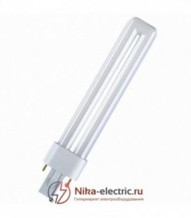 Лампа Osram Dulux S 9W/21-840 G23 холодно-белая