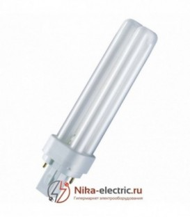 Лампа Osram Dulux D 18W/41-827 G24d-2 теплая