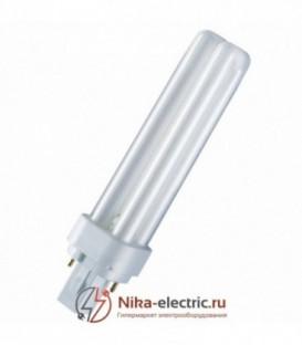 Лампа Osram Dulux D 13W/31-830 G24d-1 тепло-белая