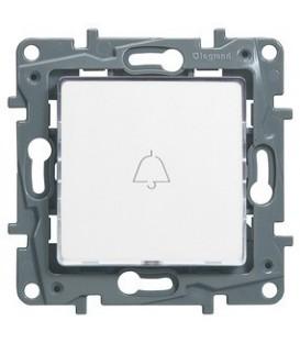 Кнопка Etika Plus с подсветкой (белая)