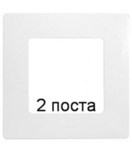Рамка Etika 2-я (белая)