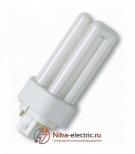 Лампа Osram Dulux T/E Plus 26W/31-830 GX24q-3 тепло-белая