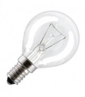 Лампа для духовых шкафов GE OVEN 40W 300°С шарик d45 E14 прозрачная