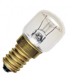 Лампа для холодильников и швейных машин Sylvania 15W d28х63 E14 прозрачная