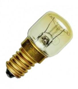 Лампа для холодильников и швейных машин Sylvania 25W d28х63 E14 прозрачная
