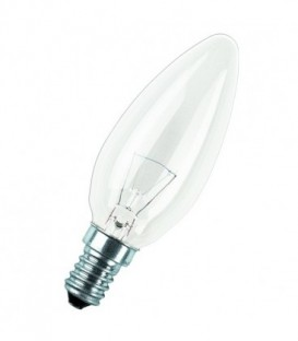 Лампа накаливания свеча 15W E14 прозрачная