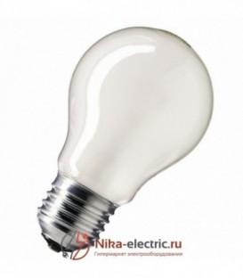 Лампа накаливания 60W E27 матовая
