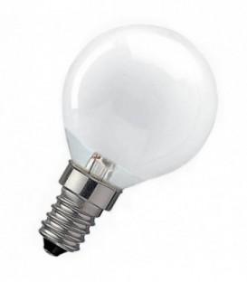 Лампа накаливания шарик 25W E14 матовая