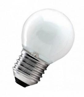 Лампа накаливания шарик 25W E27 матовая