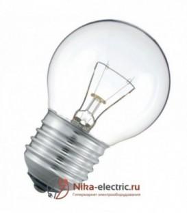 Лампа накаливания шарик 60W E27 прозрачная
