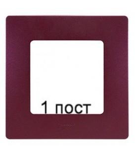 Рамка 1-ая Legrand Etika (сливовый)