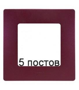 Рамка 5-ая Legrand Etika (сливовый)