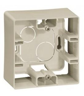 Коробка для накладного монтажа 1-ая (слоновая кость)