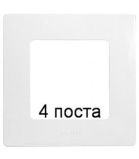 Рамка Etika 4-я (белая)