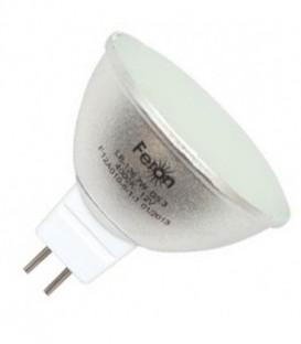 Лампа светодиодная Feron MR16 7W 4000K 12V G5.3 80LED белый свет