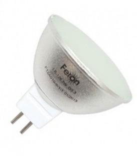 Лампа светодиодная Feron MR16 7W 6400K 12V G5.3 80LED холодный свет